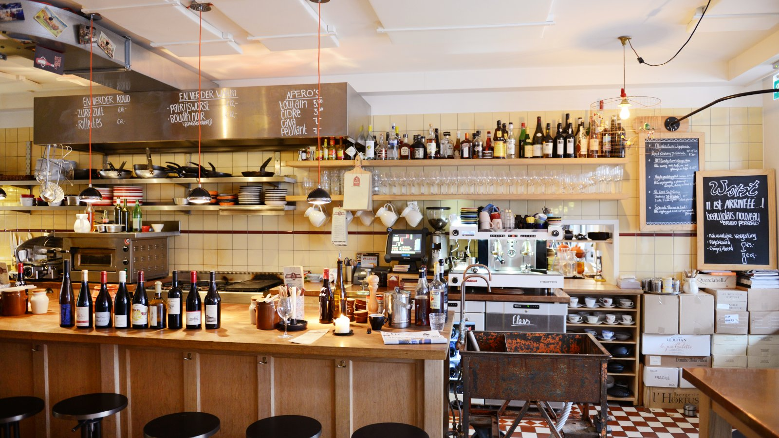 Food Inspiration - City spotlight A\'dam: Café Worst