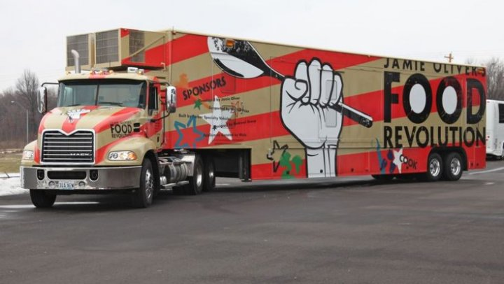 Big Rig Mobile Kitchen Classroom