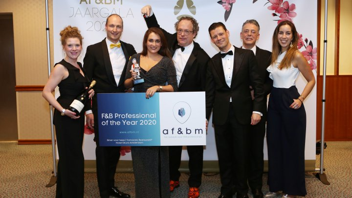 Stem op de F&B Professional of the Year '21