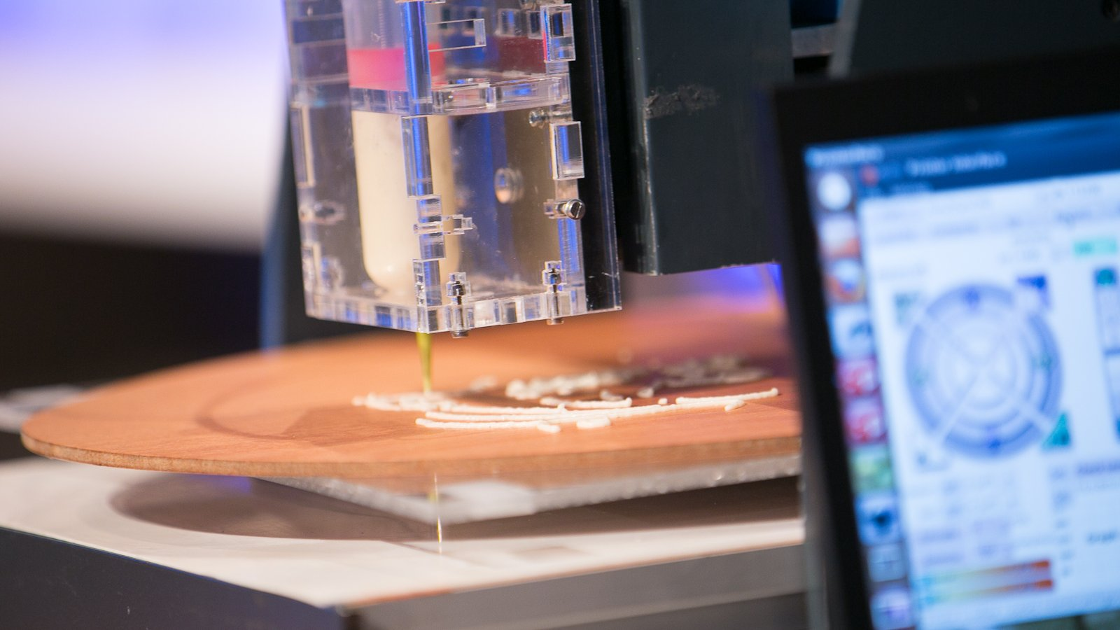 Workshop 3D food printing
