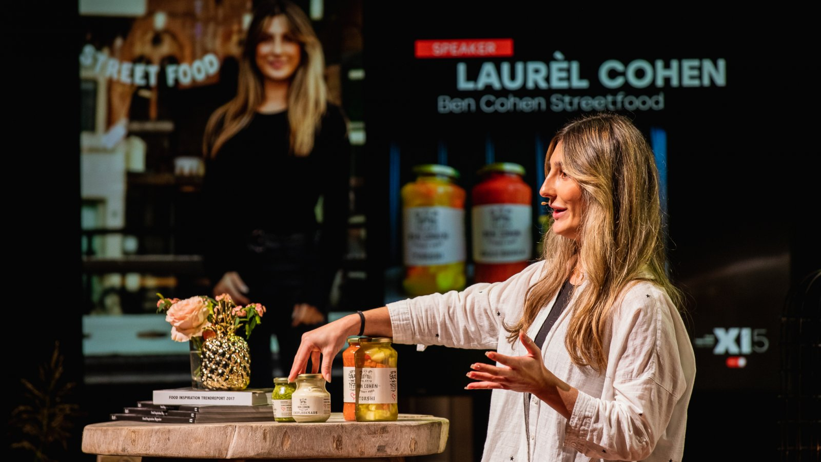 Laurel Cohen Food Inspiration Days foto Floris Heuer