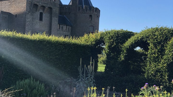 Pop-up restaurant in het Muiderslot