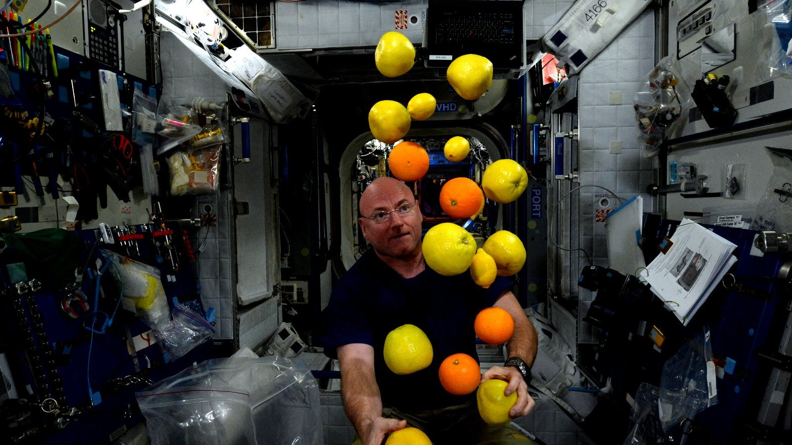 Food Inspiration in space