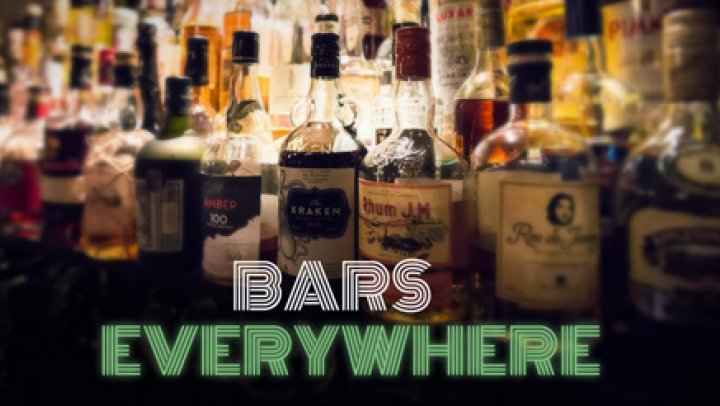 Bars everywhere