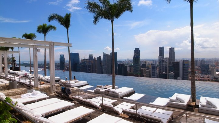 Hans' favorites:  Marina Bay Sands