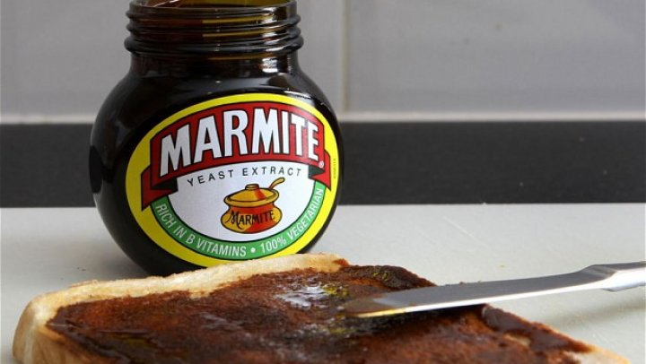 Marmite. Don't forget it
