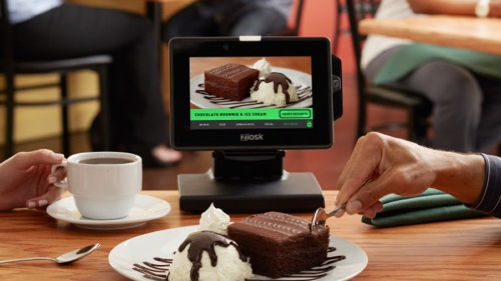 Food on the tablet