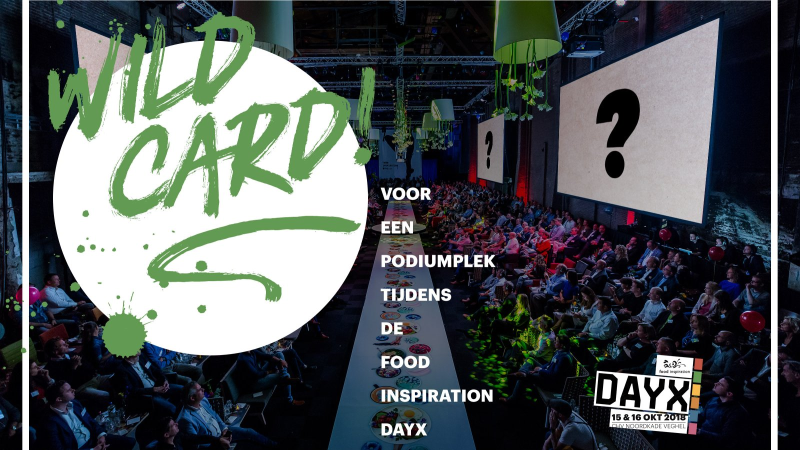 Wild Card voor start-up op de Food Inspiration DayX
