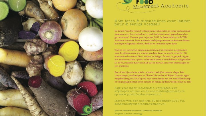 Youth Food Movement Academie 2012